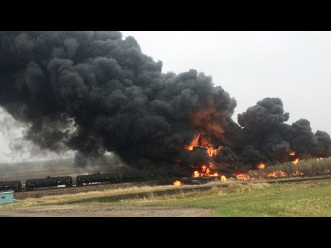 Train Derails in North Dakota, BNSF Railway Says No Injuries