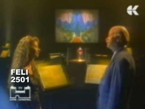 Gino Paoli e Amanda Sandrelli - La bella e la bestia (video 1991)