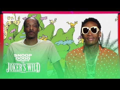 Download Lagu The Joker's Wild: Joint Reading with Wiz Khalifa [CLIP] | TBS MP3 Free