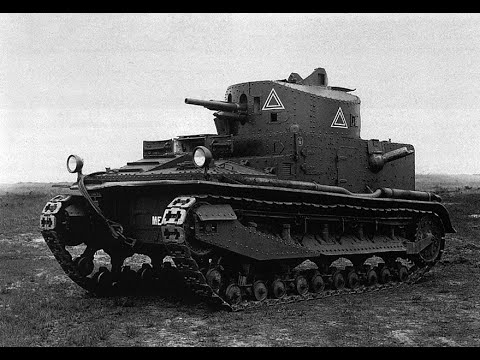 WORLD OF TANKS Великобритания Vickers Medium Mk I (серия 5)