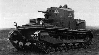 WORLD OF TANKS Великобритания Vickers Medium Mk I (серия 5)