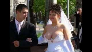 Сиськи невесты и прочие приколы на свадьбе/ wedding fine