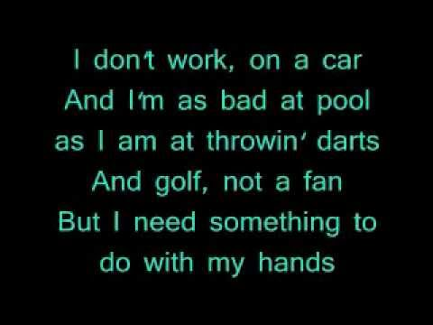 Something To Do With My Hands Official Lyrics- Thomas Rhett video