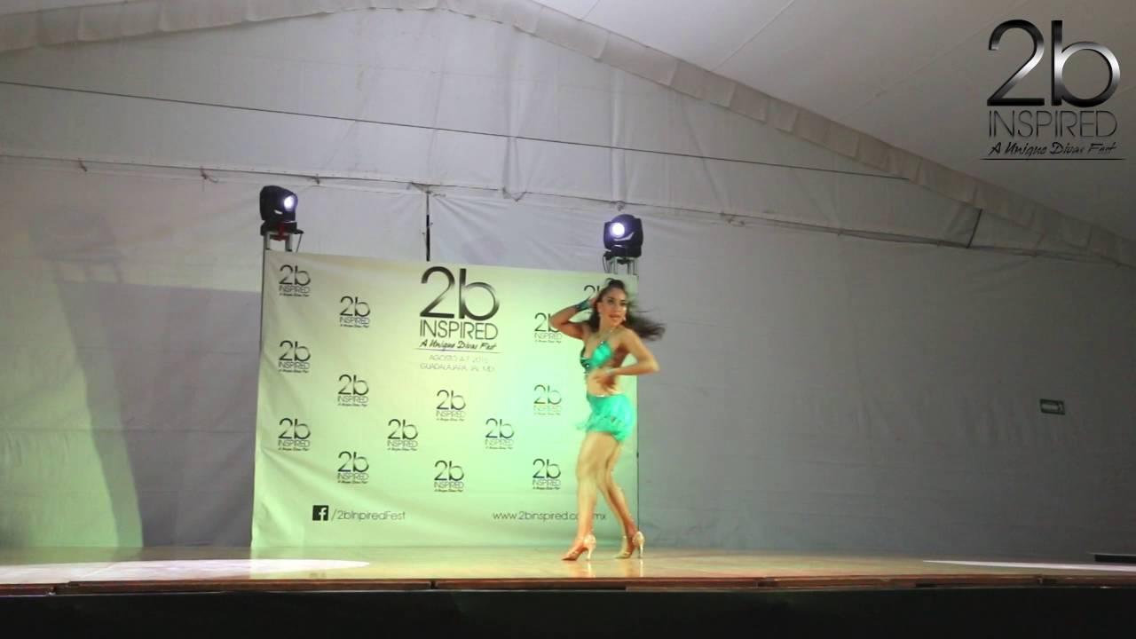 Ana Laura Gamboa | 3er Lugar, Salsa Soloista Abierta | 2b Inspired 2016