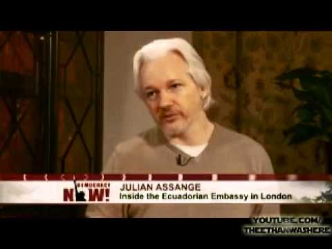 WikiLeaks' Julian Assange Responds to Hillary Clinton: Fair U.S. Trial for Snowden