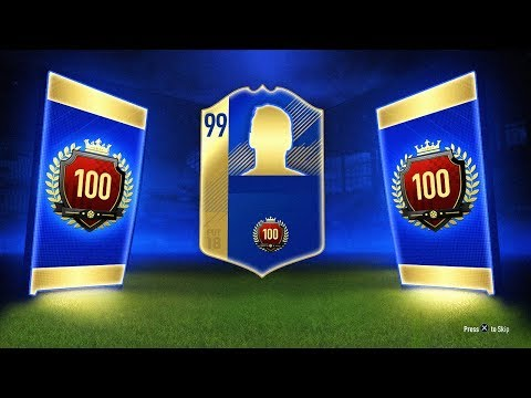 INSANE TOP 100 FUT CHAMPS REWARD! - FIFA 18 Ultimate Team