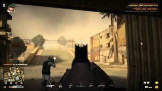 Battlefield Play4Free AKS-74U Elite weapon test (HD 720p)