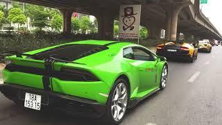 CarPassion2019 | Mr. Cường cùng dàn Siêu Xe 300 tỷ khởi hành đi Tuần Châu-Hạ Long dự đại hội Moto