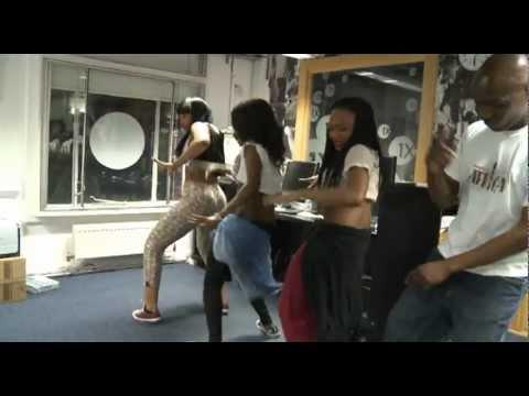 D'banj's Dancers [CEO] + Edu's Afrobeats Dance Lesson | BBC Radio 1Xtra