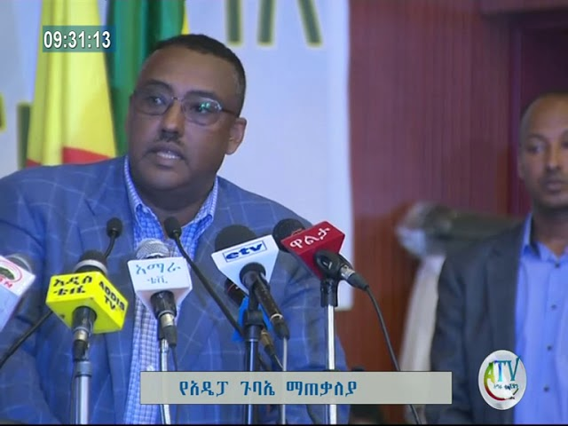 Chairman Of ADP Ato Demeke Mekonen's Press Statement