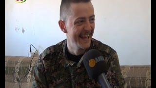 British YPG Fighter Jack Interview with ANHA