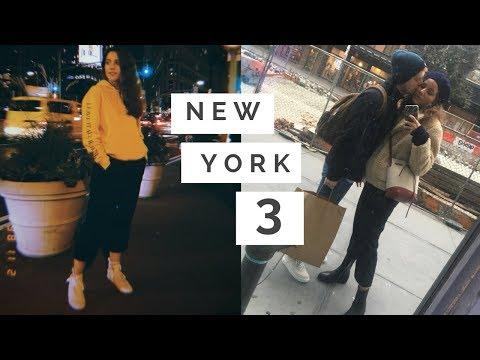 New York Vlog #3 | SON - Glossier Deneyimi, Eve Dönünce Yapacağım İlk İş !