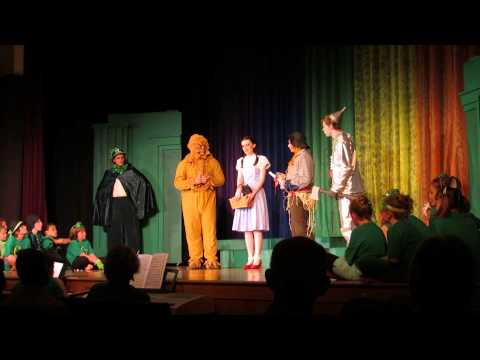 The Wizard of Oz by Johnson County High School Players & Johnson County Young Artists - Leaving Oz