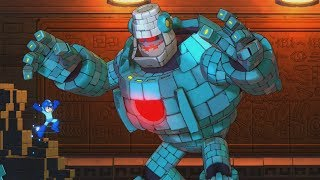 Mega Man 11 - Boss Battles [Buster Only, No Damage] + Ending