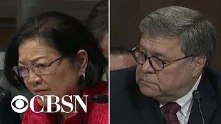 "Sen. Mazie Hirono to Barr: ""You knew you lied"""