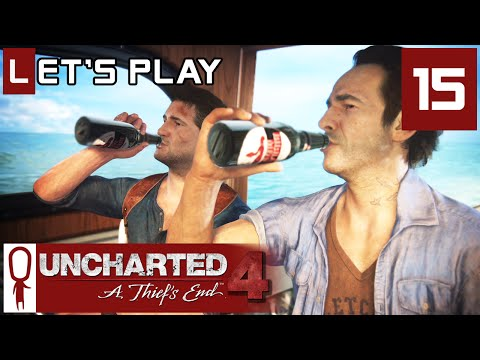 Uncharted 4 - Part 15 - At Sea - Let's Play - Gameplay Walkthrough