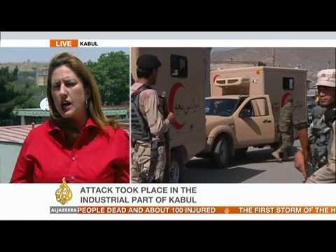 Suicide bomber targets troops in Afghanistan