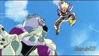 Trunks Vs Frieza & King Cold (Full Fight) HD