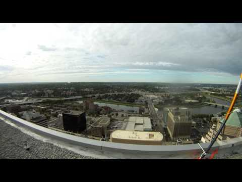Over the Edge 2012, KeyBank Tower, Dayton, OH - View From the Roof