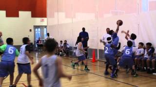 YMCA Basketball 2014 Game 1