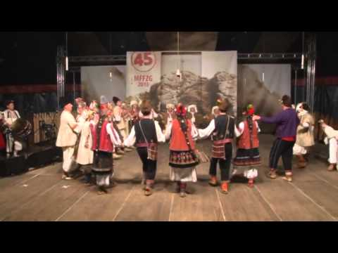 Folklore Ensemble Gaidunica Podem, Bulgaria in Zakopane, Poland 2013 (3 of 6)