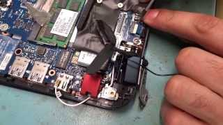 Разборка ноутбука HP ENVY 6  \  Disassembly Laptop HP ENVY 6