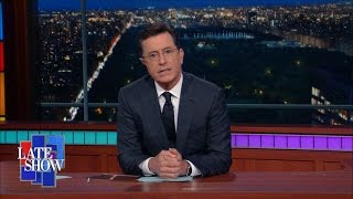 Stephen Colbert: Despair Is A Victory For Hate