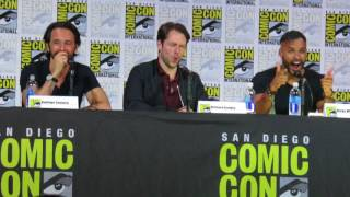 Richard Rankin in Brave New Warriors Panel at SDCC 2017