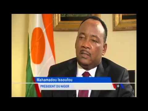 Interview Du Président Du Niger Mahamadou Issoufou Sur VOA Afrique