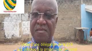 TOGO/La C14 en visite aux détenus politiques de la prison civile de Lomé