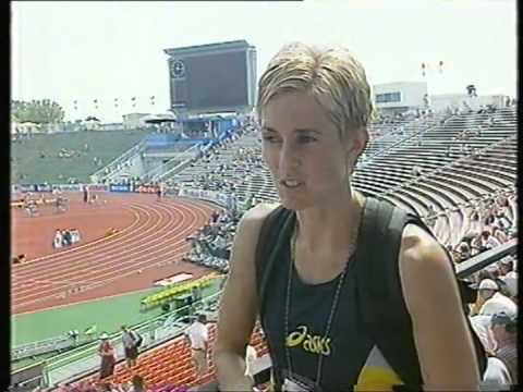 1998, Susan Smith, European Athletics Championships, (Interview)