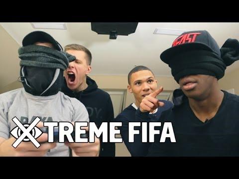 KSI & Kieran Gibbs vs Fifa Playa & Wojciech Szczęsny | Blindfold Fifa