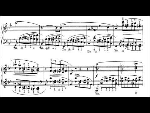 Шопен Фредерик - Prelude 21 In B Flat Major