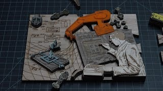 Laser Cutting the Maker Puzzle, Part 3