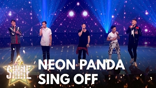 Neon Panda perform for their places with Take That's 'Greatest Day' - Let It Shine - BBC One