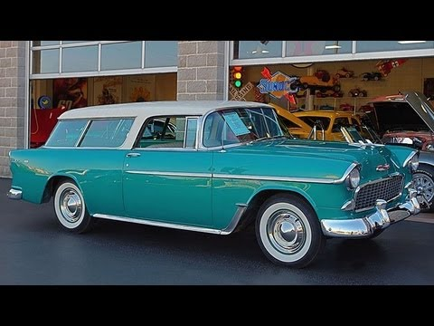 Bel Air Car >> 1955 Chevrolet Nomad - YouTube