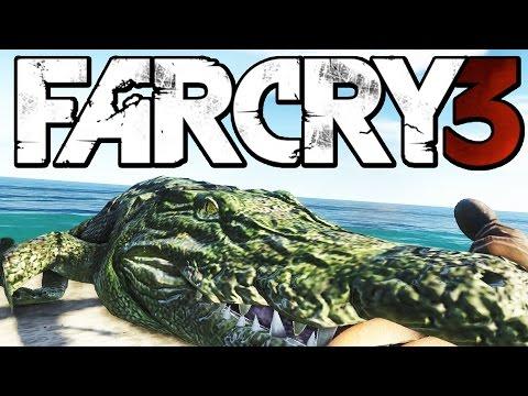 Far Cry 3 Funny Moments (Hunting Rare Albino Crocodile, Woman in Trouble)