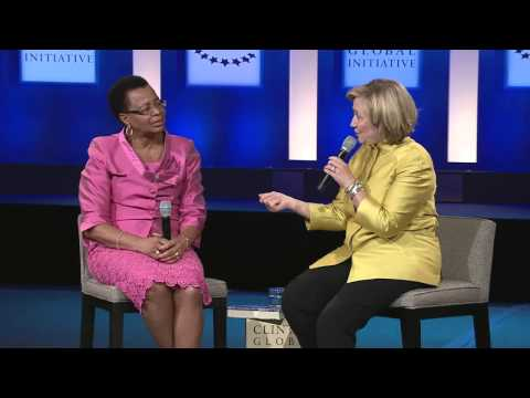 A Conversation with Secretary Hillary Clinton and Graça Machel
