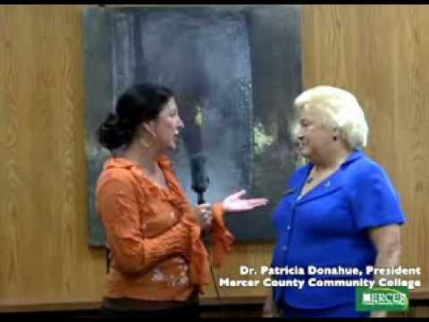 Jeanne Murphy interviews Dr. Patricia Donohue, President of Mercer County Community College