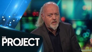 British Comedian Bill Bailey arrives in New Zealand | The Project NZ