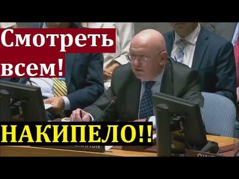 Такого еще не было в ООН! Небензя УНИЧТОЖИЛ Украину и Вставил ПИСТОН Западу! СРОЧНО!