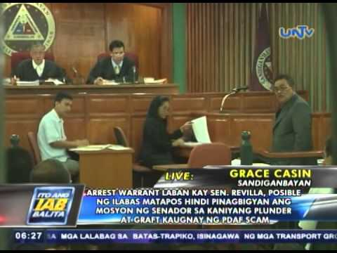 Arrest warrant laban kay Sen. Bong Revilla, posible ng ilabas (JUN192014)