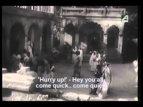 Samadhan - Classic Bengali Movie - Part 1 13 - Uttam Kumar & Gayatri Mukhopadhyay video
