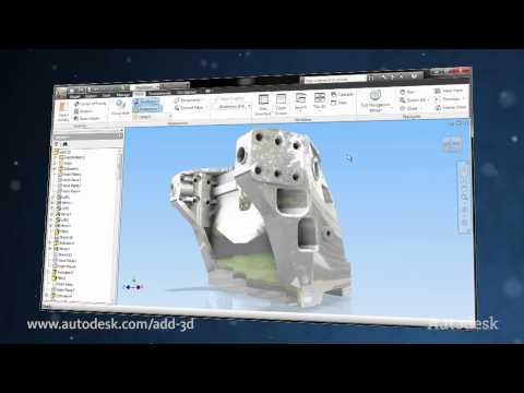 AutoCAD Inventor LT Suite — 2D to 3D