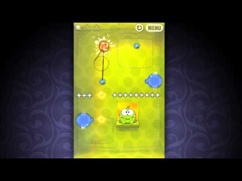 Thumb Cut The Rope game for iPhone, iPod Touch