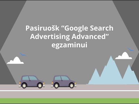 Pasiruok Google Search Advertising Advanced