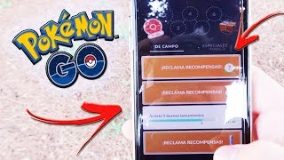 ¡TRUCO COMO ACUMULAR INFINITOS POKÉMON de las INVESTIGACIONES de CAMPO en Pokémon GO! [Keibron]