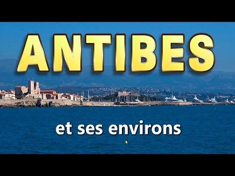 Antibes, Côte d'Azur : la ville, le port, les plages, les activités, l'environnement proche