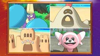 Cuatros nuevos Pokémon llegan a Sun y Moon