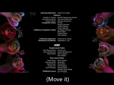 Madagascar ''i Like To Move It'' (swedish) Lyrics video